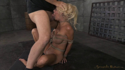 Big titted blonde Courtney Taylor