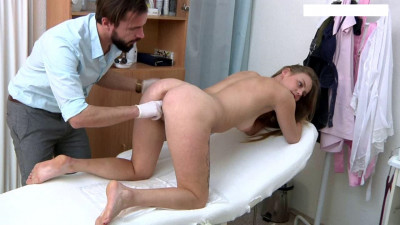 Pauline Bohem (24 years girl gyno exam)