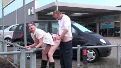 Public sex on car parking