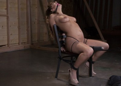 Charlotte Cross - All Natural Babe Chair Bound - Full HD 1080p