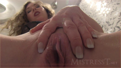 Mistress T - Toilet Service (2013) (toilet, blonde, mistress, english)