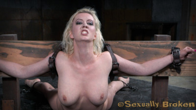 Description Stunning Cherry Torn Bound In Back Breaking Arch - HD 720p