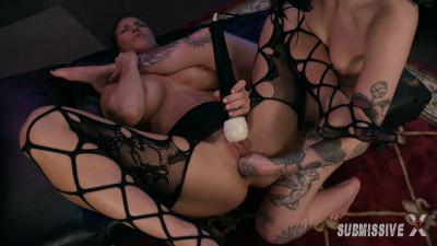 Lesbian Anal Hook up Bar - Charlotte Sartre and Ariel X - HD 720p