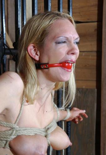 Blonde For The Hard BDSM