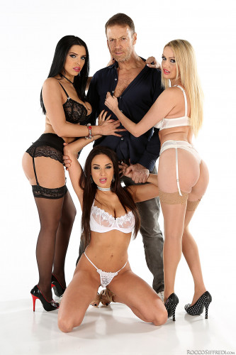 Anissa Kate, Amber Jayne, Kira Queen - Threesome FullHD 1080p