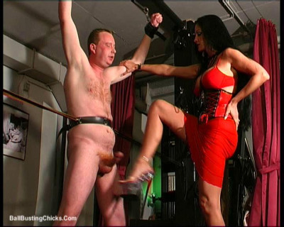 Description Ballbustingchicks - Carmen Rivera - Pleasure And Pain - pt1
