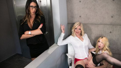 Kenzie Reeves, Dava Foxx, Serene Siren - My Mom And Her Boss FullHD 1080p