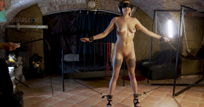 Sexy Slave Mishelle Is Real Tortured