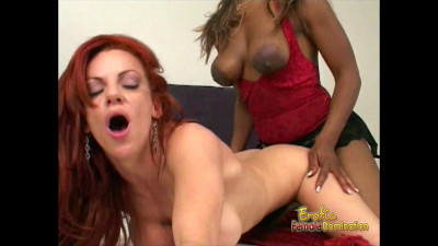 Black Woman Fucks Her White Girlfriend With A Strap-on – HD 720p