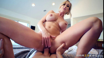 big tit milf Brandi fucked in the bedroom