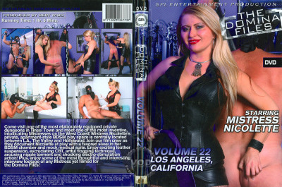 The Domina Files Part 22 Mistress Nicolette Los Angeles CA