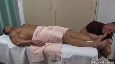 Joey's Foot Worship Massage