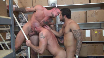 Raw Fuck Club - Sean Duran, Matt Stevens And Mario Cruz