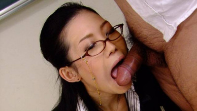 Description Yui komine blows her students dick