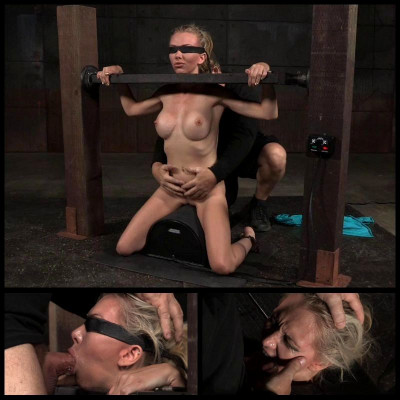 Blindfolded Bound On Sybian (30 Dec 2015) Sexually Broken