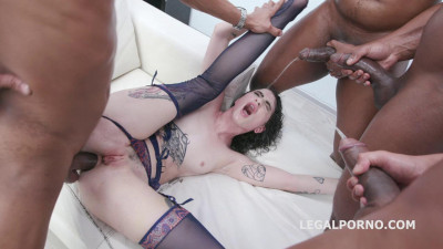 Black Piss for Lydia Black Vs 4 BBC