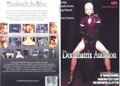 Dominatrix Audition