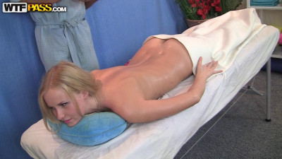 Blonde alice in sexy ass massage movie