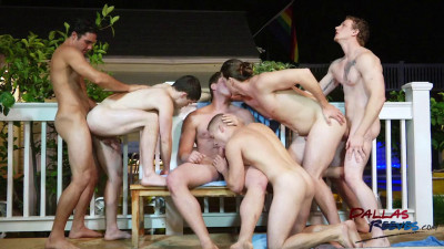 Hungry Jock Orgy Part2