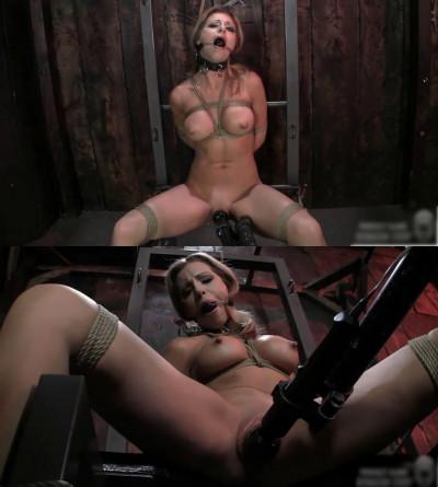 Hard bondage, torment, torture and strappado for naked slut (part 1)