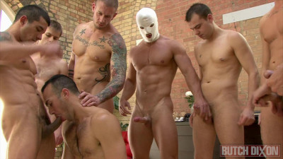 Birthday Gangbang Party With Creampies
