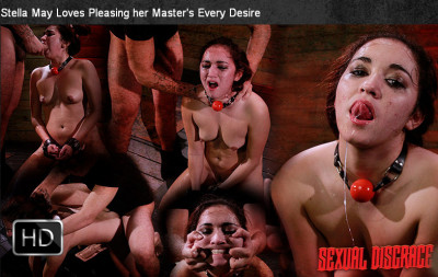 SexualDisgrace – Sep 26, 2014 – Stella May Loves Pleasing Her Master's Every Desire
