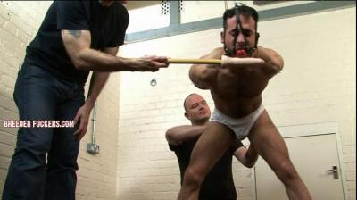 Jamie – Ball-gagged, tied, groped, spanking