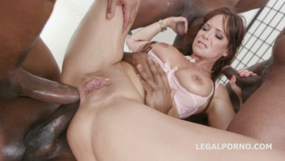 Description Interrcial Gangbang With Double Anal For Big Boots Milf