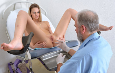 Katy Sky (18 years girl gyno exam)