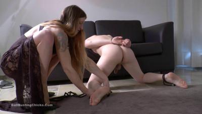 Ballbustingchicks – Isabella – Sexy Legs Kicking Nuts