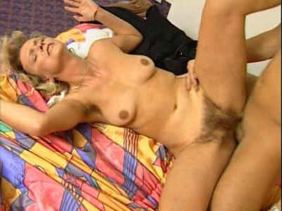 Very Hairy German Girl