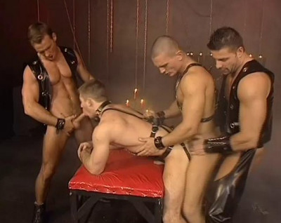 Leather Brutal Males