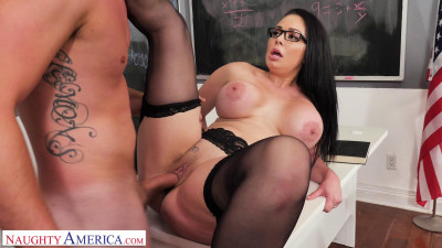 Professor Miller (Brooke Beretta) is horny and wet for her student