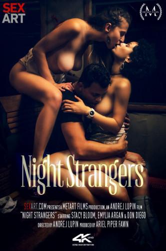 Description Emylia Argan Stacy Bloom - Night Strangers FullHD 1080p