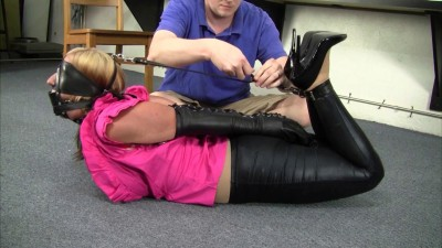 Leather Strapped And Tied Tight