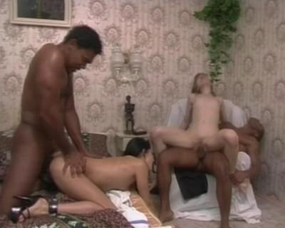 Interracial sex show