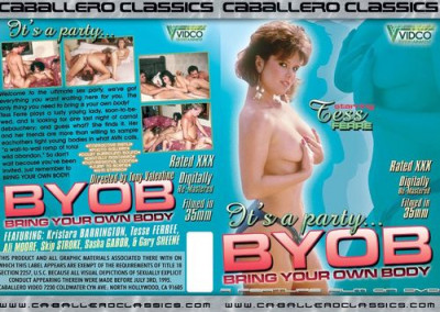 Description Bring Your Own Body Byob (1985) - Kristara Barrington, Tesse Ferree