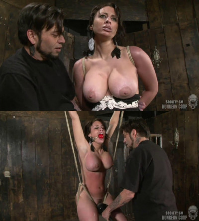 Bondage, spanking, strappado and torture for sexy bitch part 1