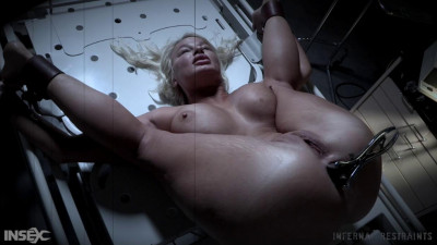 Description Rough Bondage & Deep Anal For Busty Blond Slave