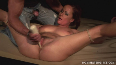 Dominated Girls - Domination victim on slave auction - Katy