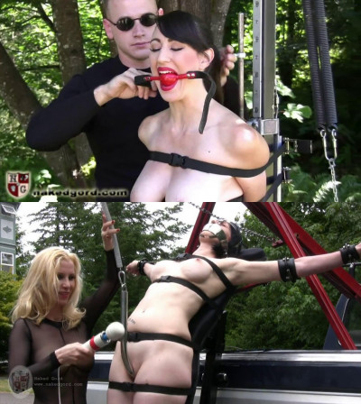 Super bondage, domination and torture for sexy hot bitch