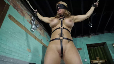 Super bondage, spanking and torture for beautiful blonde part 1