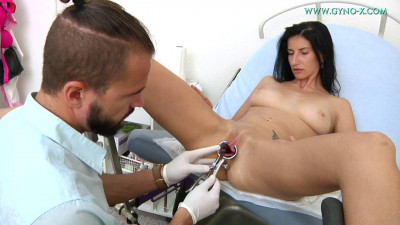 Aria Rossi 28 years girl gyno exam (2018)