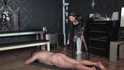 Caning in Leather