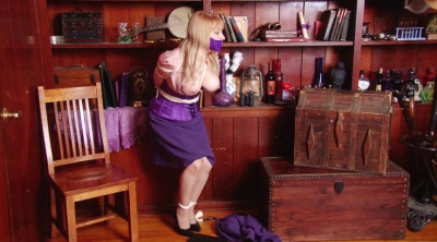Bound And Gagged – The Case Of The Captured Detective – Part 1 – Starring Miss Purple