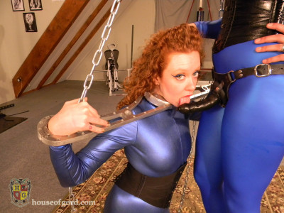 Houseofgord - Metal Bondage Suck Training HD 2015