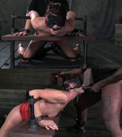 Bondage, hogtie, domination and torture for sexy naked slut