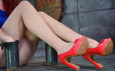 Very Beautiful Legs Waiting For Punishment