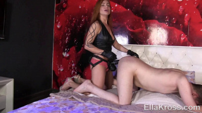 dick fucking internal - (Tormenting My Slave with the Biggest Strap-On Ever! - Full HD 1080p)