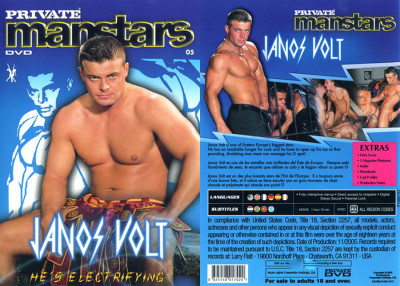 Private Manstars vol.5 Janos Volt - He's Electrifying